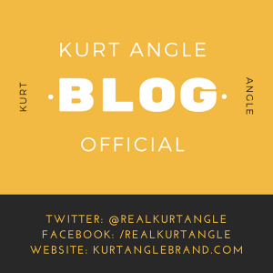 Kurt Angle Official Blog