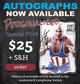 Kurt Angle Personalized Autograph